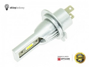 Żarówka LED H7 13W 12V 24V DC 1500lm 6000K OPTICON PREMIUM