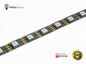 Taśma LED 5V 300x SMD 5050 10mm IP20 14,4W RGB OPTICON PREMIUM