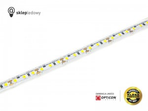 Taśma LED 12V 600 SMD 2835 10mm IP68 9,6W/m Biały Zimny 6000K OPTICON PREMIUM