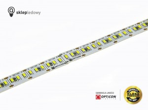 Taśma LED 12V 1200x SMD 3014 10mm IP20 20W Czerwony OPTICON PREMIUM