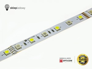 Taśma LED 12V 300x SMD 5050 12mm IP20 14,4W RGBWW OPTICON PREMIUM