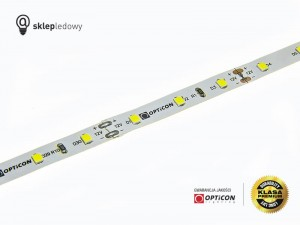 Taśma LED 12V 300 SMD 2835 8mm IP20 9W/m Biały Zimny 8000K OPTICON PREMIUM