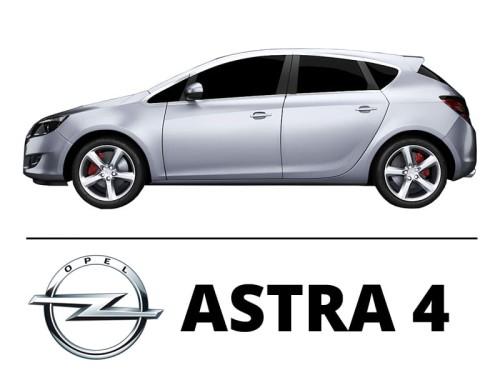 Opel Astra 4 J Zestaw Oświetlenie Kabiny Led Standard 11 żarówek