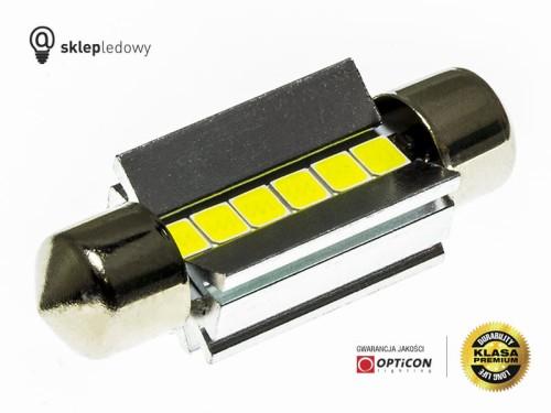 Bmw Oświetlenie Tablicy Rejestracyjnej Led żarówka C5w 36mm Opticon Premium 1 Sztuka