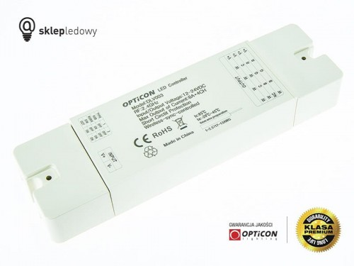 Sterownik OPTICON MULTI Strefowy 24A 12V / 24V DC 2,4G