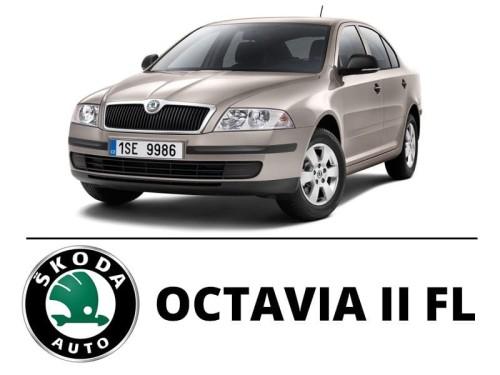 Skoda Octavia Ii Fl Zestaw Oświetlenie Kabiny Led Standard 8 żarówek