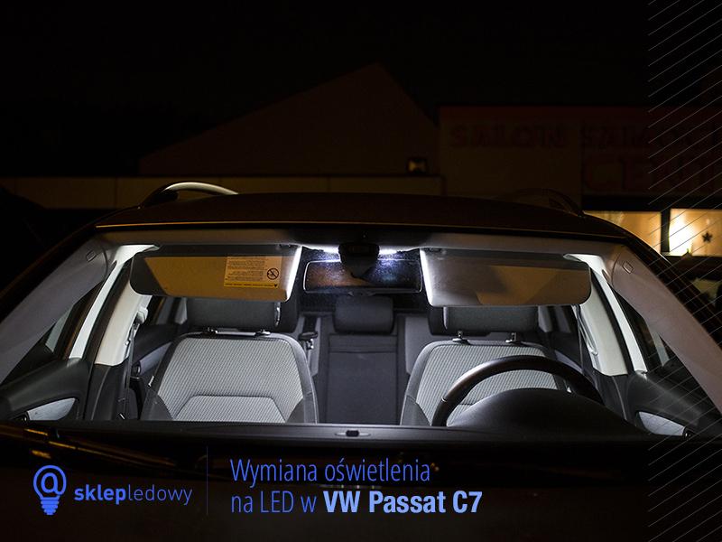 Wymiana Oświetlenia Wnętrza Na Led W Volkswagenie Passat B7