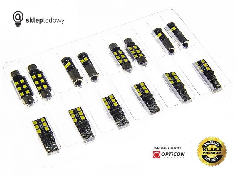Renault Megane Iv Zestaw Oświetlenie Kabiny Led Standard 5 żarówek