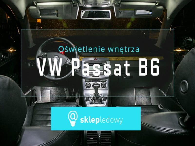 Volkswagen Passat B6 Zestaw Oświetlenia Kabiny Led Standard 15 żarówek