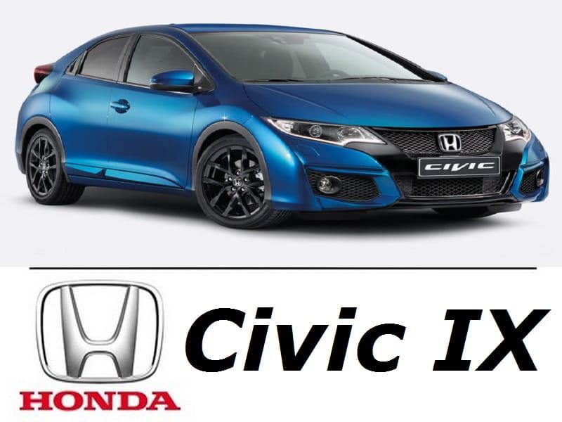 Honda Civic Ix Zestaw Oświetlenie Kabiny Led Standard 6 żarówek