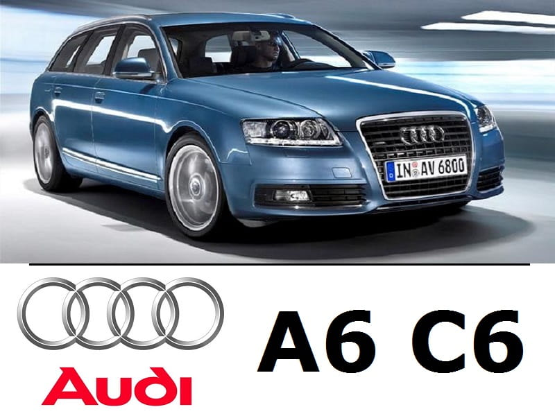 Audi A6 C6 Avant Zestaw Oświetlenie Kabiny Led Premium 17