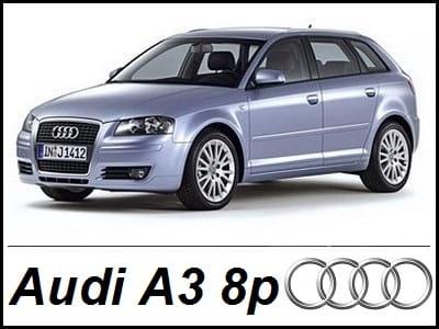 Audi A3 8p Zestaw Oświetlenia Kabiny Led Standard 10 żarówek Www