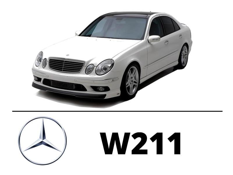 Mercedes W211 Sedan Zestaw Oświetlenie Kabiny Led Standard 18 żarówek