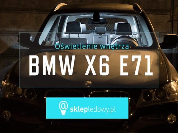 Bmw X6 E71 Zestaw Oświetlenie Kabiny Led Standard 19 żarówek