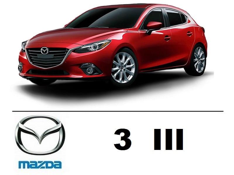 Mazda 3 Iii Hatchback Zestaw Oświetlenie Kabiny Led Standard 6 żarówek