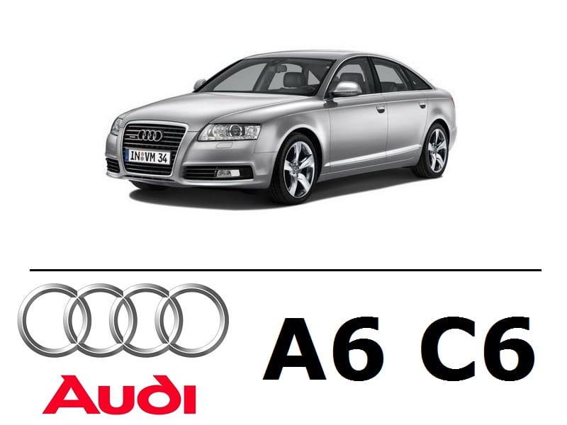 Audi A6 C6 Sedan Zestaw Oświetlenie Kabiny Led Standard 14