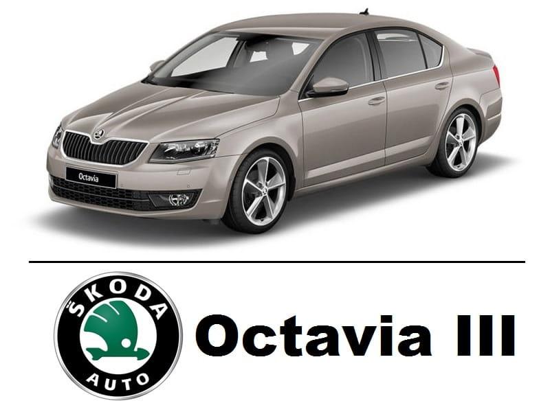 Skoda Octavia Iii Zestaw Oświetlenie Kabiny Led Standard 7 8 żarówek