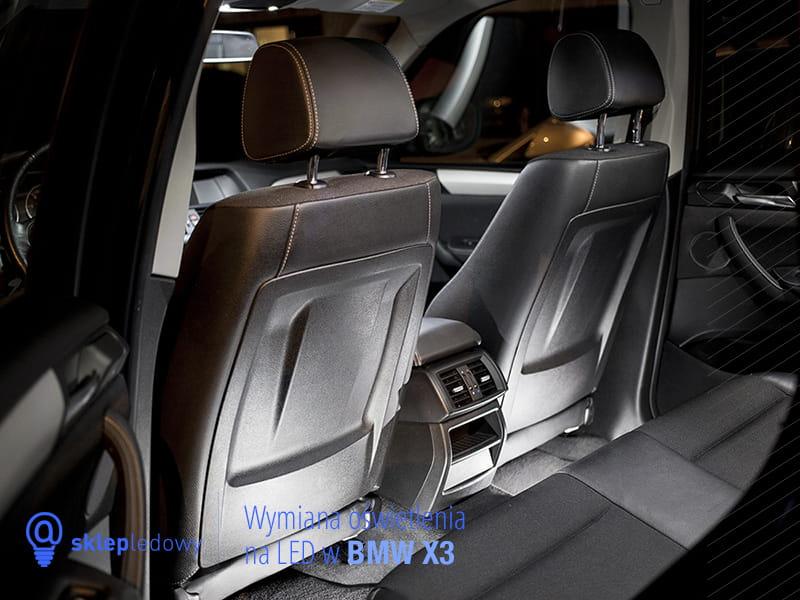Bmw X5 E70 Zestaw Oświetlenie Kabiny Led Standard 20 żarówek